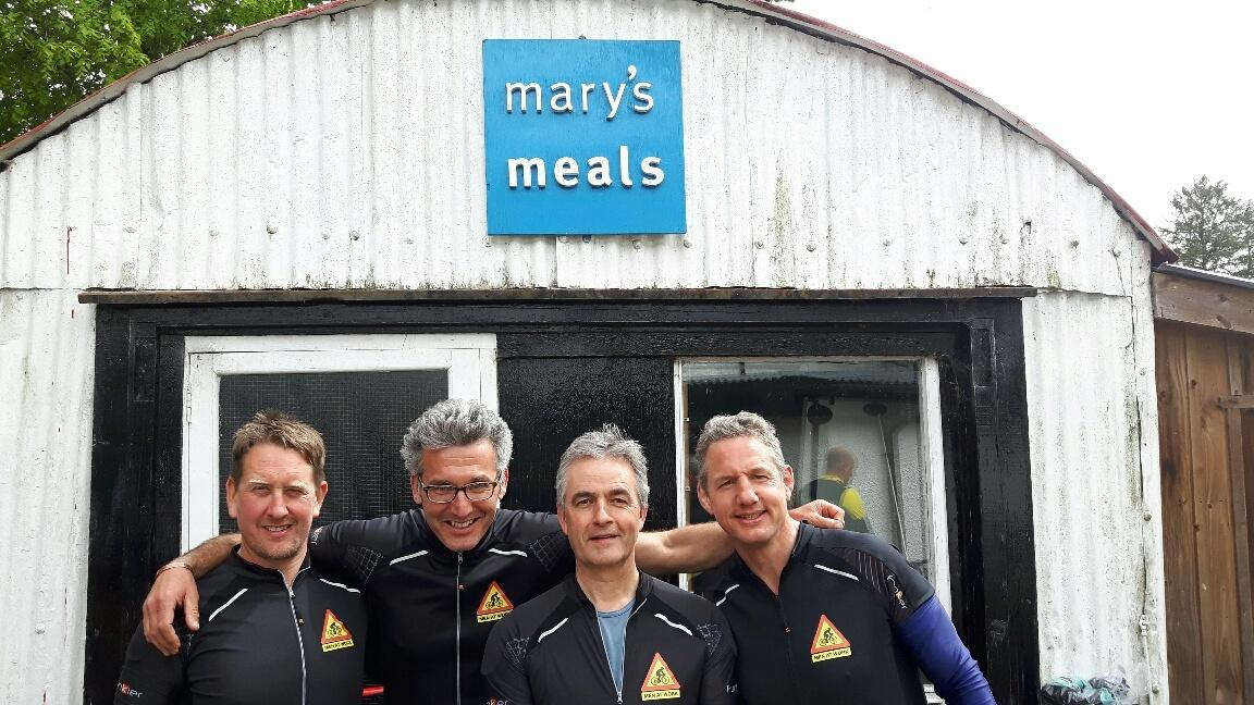 Vuelta cycle challenge for Mary's Meals